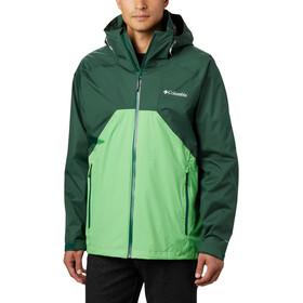 Columbia Rain Scape Jas Heren, rain forest/green boa/rain forest zips